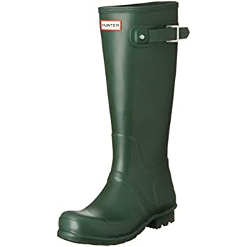 908242e2c13 Hunter Men's Original Tall Rain Boots Hunter Green 9 M US