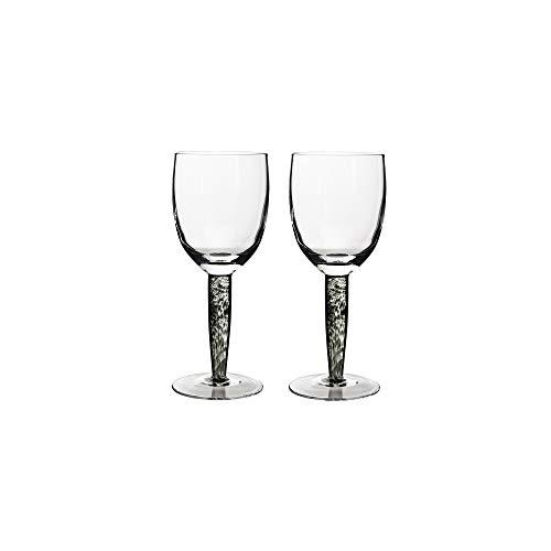 (Denby Jet Glassware White Wine Glasses, Set of)