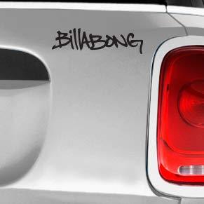 Billabong Scribble Automotive Decal//Bumper Sticker LakepointOne.com