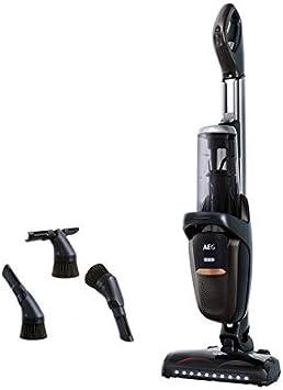 AEG FX9-1-4IG Aspiradora Escoba Sin Cable 360 Sin Bolsa, Bateria 36V de hasta 60 Minutos, 3 Velocidades, Ergonómico, 82dB, Función Parking, Luces Cepillo LED, Depósito 0.7L, Gris Metálico: Amazon.es: Hogar