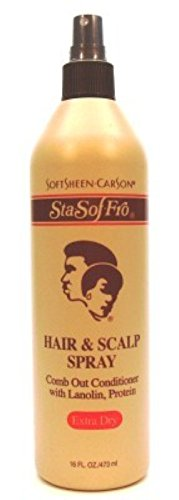 Sta-Sof-Fro Hair & Scalp Spray 16oz X-Dry (6 - And Hair Spray Scalp