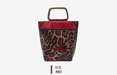 Selvaggio Benna Wybbag Serratura Della Rosso Femminile Selvaggia Borsa Modo Sacchetto Di IqBqvp