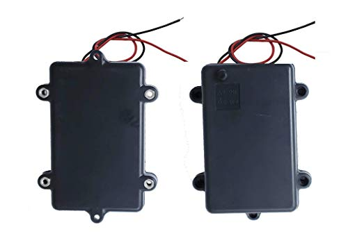 - Low Voltage Power Solutions: Water Resistant Battery Holders - 3AA Battery Cases with AAA Battery Adapters - Triple Battery Holder for Arduino, Lilypad Circuits, Cosplay, 2 Pack
