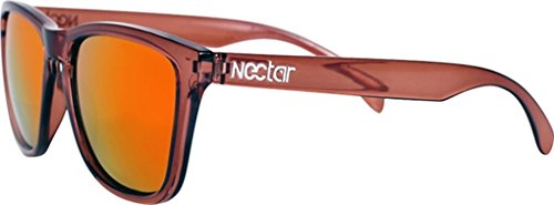 Nectar Wayfarer Polarized Drift Brown/Sunburst Sunglasses by NECTAR