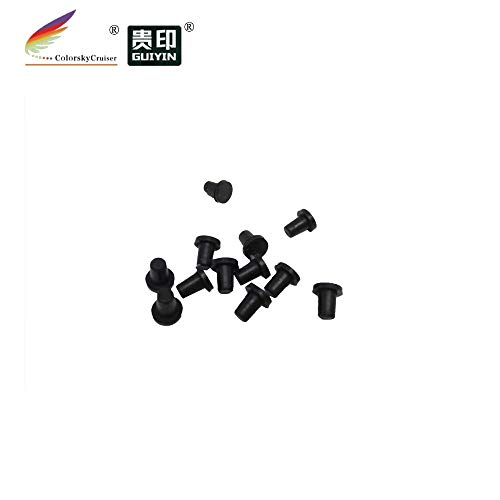 - Printer Parts (E-C80) Sealing Fill Hole Rubber Plug for Eps0n C80 C 80 Plug Cartridge with chip 65mm 0.075g/pc 200pc/lot