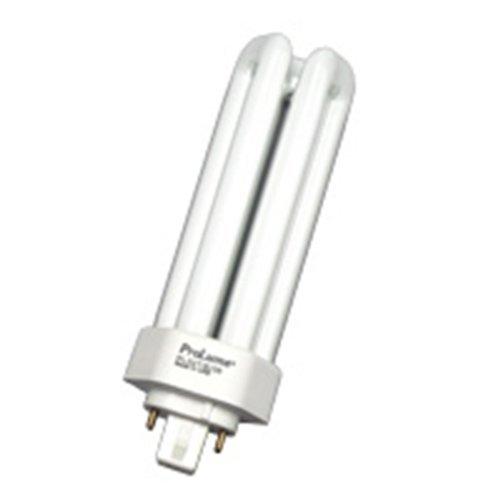 Hour Lamp 15000 Compact Fluorescent (5 Qty. Halco 32W Triple 3500K GX24Q-3 PRO ECO PL32T/E/35/ECO 32w 6.5v CFL White EOL Lamp Bulb)