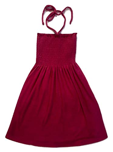 Juicy Couture Berry Pink Mirco Terry Smoked Dress XS ()