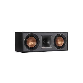 Image of Center-Channel Speakers Klipsch R-52C Powerful detailed Center Channel Home Speaker - Black