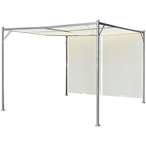 vidaXL Garden Pergola Adjustable 98#039x98#039 Gazebo Outdoor Canopy Shade Roof