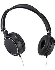 On-ear hoofdtelefoon, lichtgewicht Eenvoudig aan te passen Bedrade hoofdtelefoon Huidvriendelijk met verstelbare hoofdband om van films of muziek te genieten