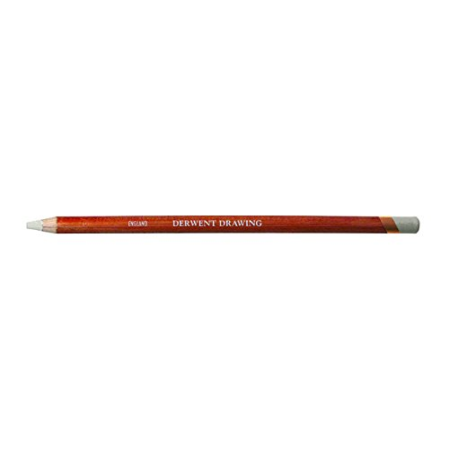 Derwent Drawing Chinese Pencil, White (34392) - Lead Dip