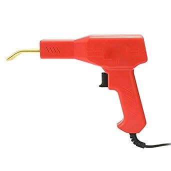Flat//Outside Corner//Inside Corner//Wave Staples Hot Stapler Plastic Repair Kit,50W Plastic Welder Stapler for Car Bumper Crack Repairing Welding Machine Set,Plier