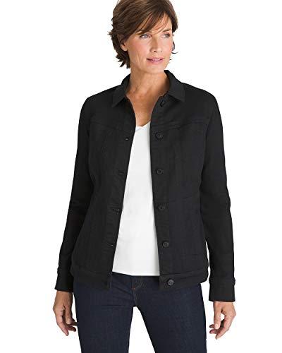Chico's Women's Classic Stretch Denim Jacket