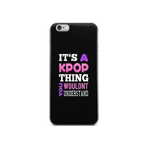 iPhone 6 Case iPhone 6s Case Cases Clear Anti-Scratch A Kpop Thing - Black, Kpop Cover Case for iPhone 6/iPhone 6s, Crystal Clear ()