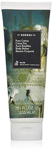 (KORRES Pure Cotton Body Butter, 7.95 Fl. Oz)