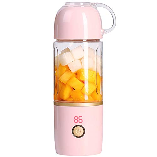 Mini Electric Juicer, Portable Juicer Portable Blender Sports Bottle 360 Ml USB Rechargeable Juice Cup Multi-Function - Ml Bottle 360