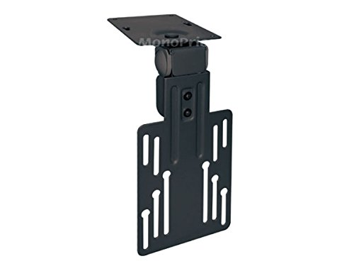 (Monoprice LCD LED Cabinet Mount Bracket (Max 17.6Lbs, 9~17inch) - Black)