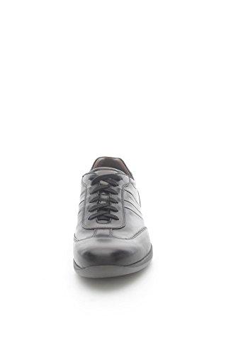 Nero Giardini A503610U Sneakers Uomo Pelle Nero Nero 43