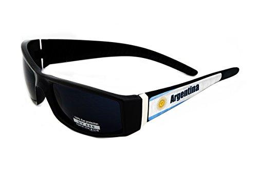 Argentina Design Black Frame/Black Lens 60mm Sunglasses Item # - Sunglasses Argentina