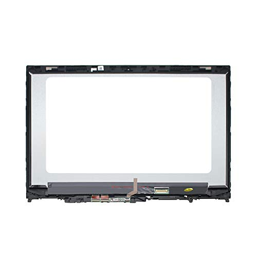 LCDOLED Compatible 15.6'' FullHD 1080P IPS B156HAN02.1 LED LCD Display Touch Screen Digitizer Assembly + Bezel for Lenovo Flex 5-15 5-1570 80XB 81CA 81CA0008US 81CA0009US 80XB0008US (W/Board) by LCDOLED (Image #1)