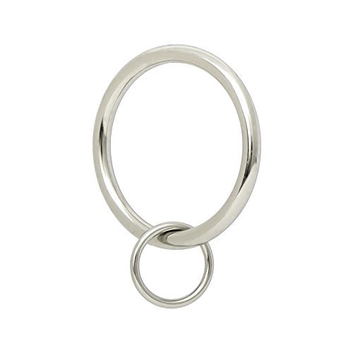 (Ivilon Drapery Eyelet Curtain Rings - 1.7