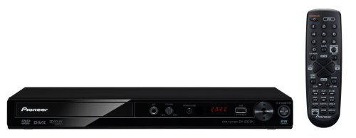 Pioneer DV-2022K Compact DVD Player -for Region Free Multi System - Black