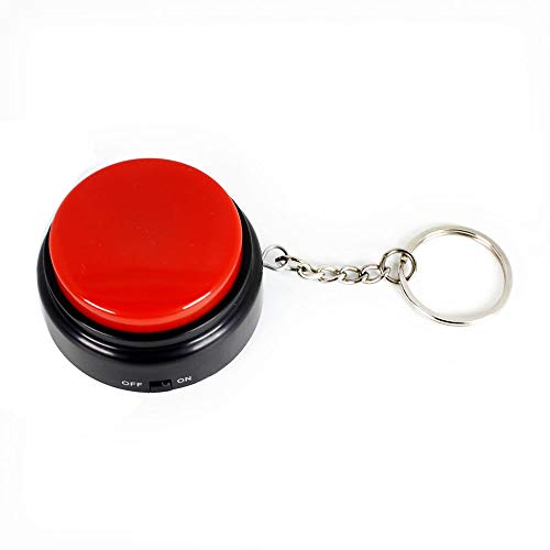 Cover Record Talking Button with Keychain M7 (M7 Keychain with on-Off)