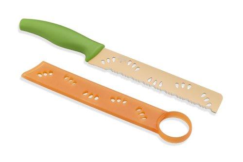 Kuhn Rikon Melon Knife Colori - Fruit Knife Acorn