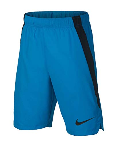 Nike Dry Boys' Dri-Fit Training Shorts Blue Black 892495 482 (m)