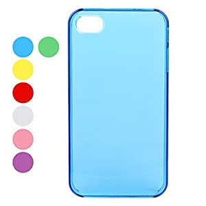 Ultra Slim Crystal Hard Back Case for iPhone 4 and 4S (Assorted Colors) --- COLOR:Green