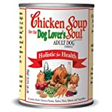 Chicken Soup for the Dog Lover's Soul Canned Food for Adult Dogs, Chicken Formula (Pack of 24, 13 Ounce Cans), My Pet Supplies