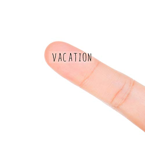 MAGJUCHE Vacation Monthly Planner Stickers, 120 Clear Travel Work Day Off Labels Calendar Scrapbooking Crafting Stickers]()