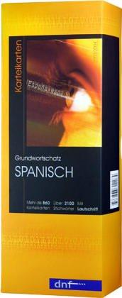Grundwortschatz Spanisch. Karteikarten