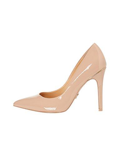 De Con Lipsy Salón Zapatos Beige Mujer Ribetes AqwwIraES