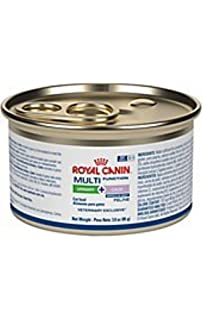 Royal Canin Veterinary Diet Feline Multifunction Urinary + Calm Morsels in Gravy Canned Cat Food 24