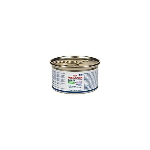 Image of Royal Canin Veterinary Diet Feline Multifunction Urinary + Calm Morsels in Gravy Canned Cat Food 24/3 oz Pet Supplies