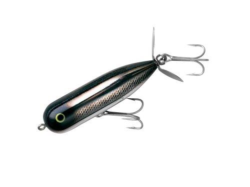 Heddon Magnum Torpedo Fishing Lures (Black Shiner/Glitter, 3 5/16-Inch) (Shiner Glitter)