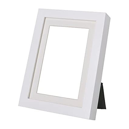Amazon.com - Ribba Set of 4 Picture Frames 5 x 7 in 4 White Picture ...