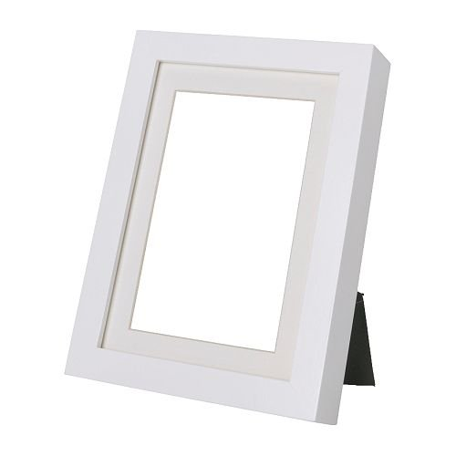 Ribba Picture Frames 8 x 10 inch 4 White Picture Frame Set of 4