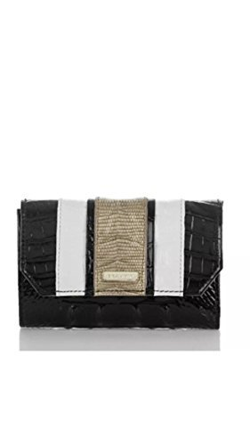 Brahmin Helena Leather Wallet Black