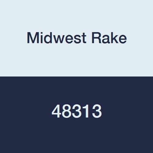 Midwest Rake 48313 3'' Aluminum Ribbed Roller, 1'' Diameter, Wood Handle