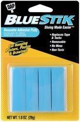 (Dap Bulk Buy Blue Stik Reusable Adhesive Putty 1 Ounce 1201 (6-Pack))