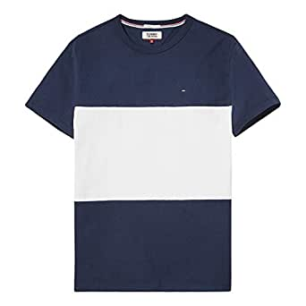 Tommy Hilfiger polo neck tee for men in Blue & White, Size:XXL