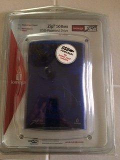 Iomega 100MB USB Powered Zip Drive for PC/Mac