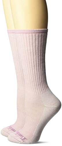 - Timberland Women's Boot Sock Collection, Light Pink, OSFM, 2 Pairs per Pack