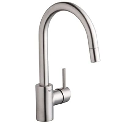 Grohe 31349DCE Super Steel Concetto Bathroom Faucet - Touch On ...