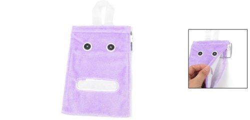 Amazon.com: Papel Higiénico la cubierta del rodillo del Tejido de toalla de Felpa púrpura colgantes dispensador: Home & Kitchen