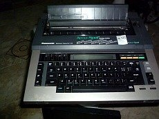 panasonic electronic typewriter - 1