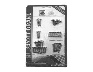 Mustang Interior Trim Screw Kit Convertible 1964 - (1964 Interior Kit)