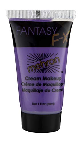 Mehron Makeup Fantasy F/X Water Based Face & Body Paint (1 oz) (Purple)